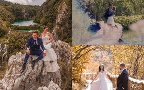 wedding plitvice lakes