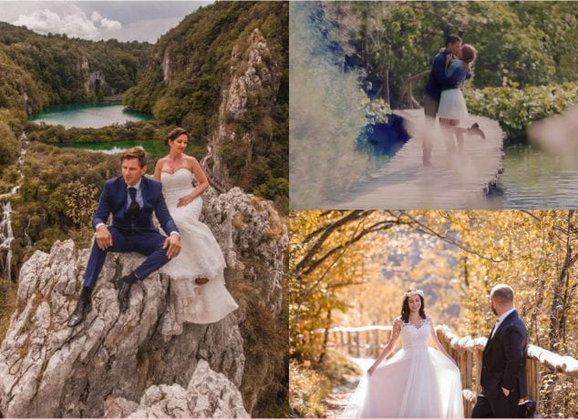 wedding plitvice lakes