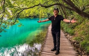 """Beautiful Croatia"" – Italian star Zucchero at Plitvice Lakes!"