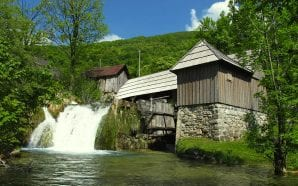 Watermill and Sawmill in village Korana – protected cultural monuments