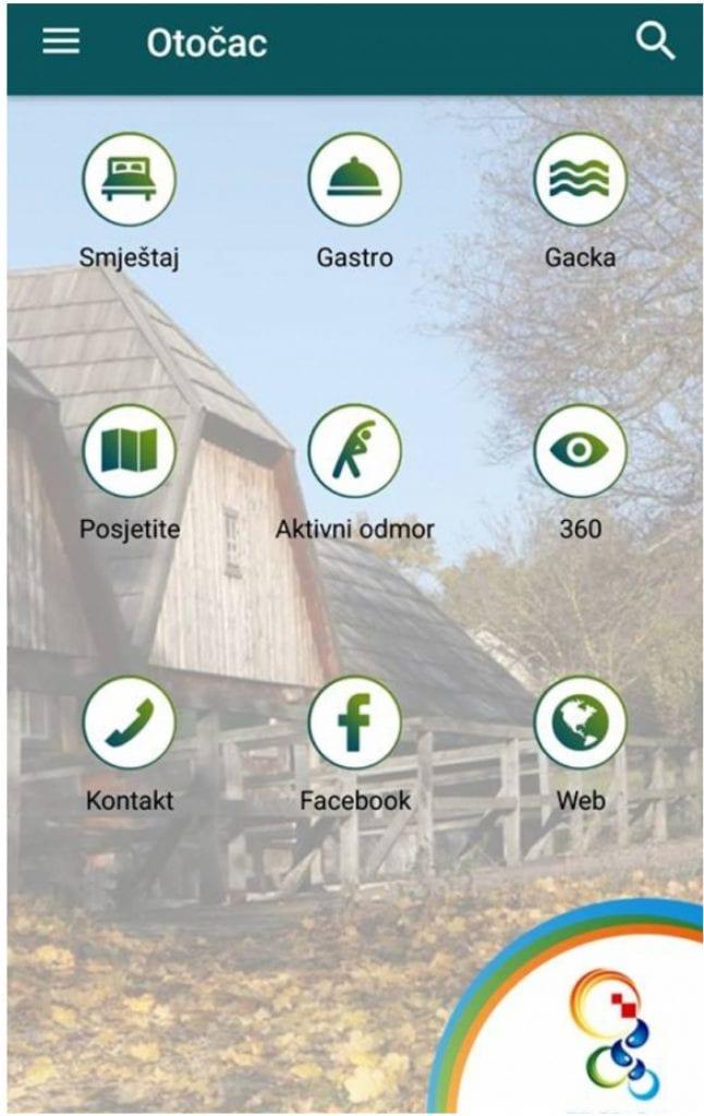 otočac app