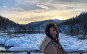 SINGAPORE STEWARDESS: My beautiful Christmas at Plitvice Lakes