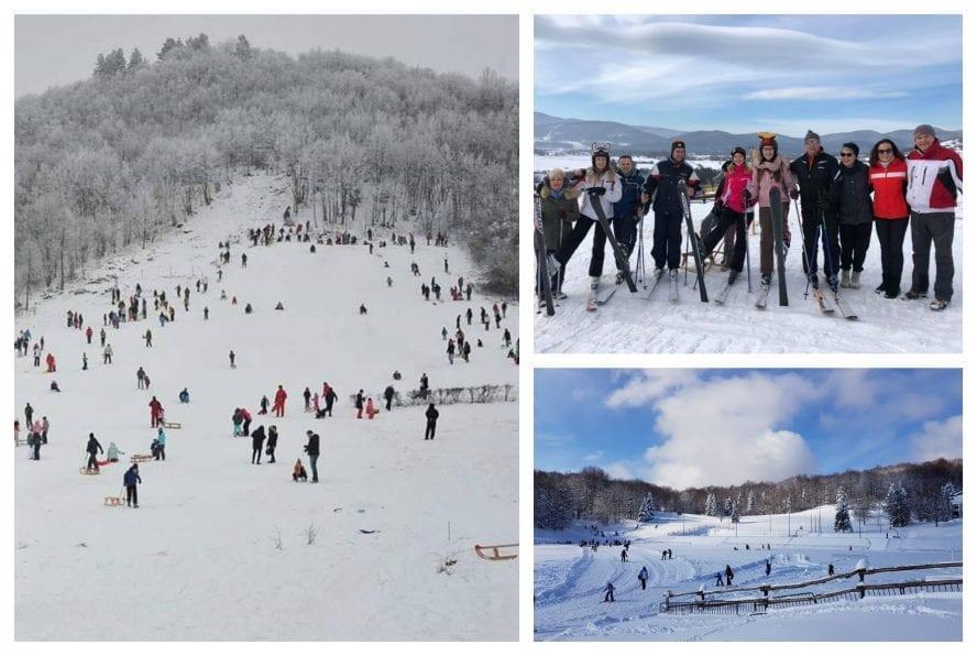 skiing lika senj county