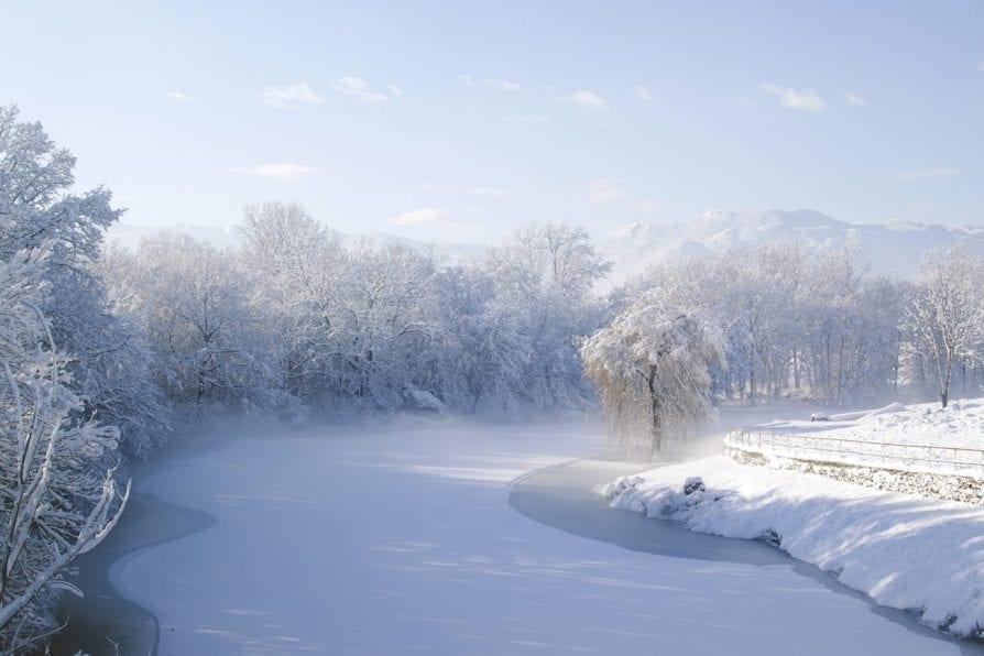 winter lika croatia