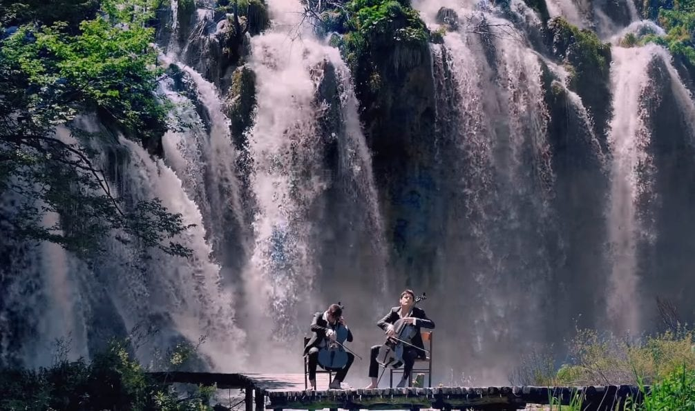 2 cellos plitvice lakes
