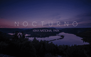 NOCTURNO Beautiful Timelapse video from Krka National Park