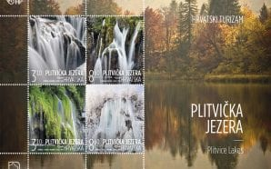 SPECIAL SERIES Plitvice Lakes on Croatian postage stamps