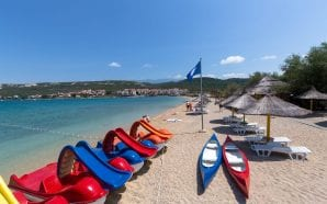 THE PLANJKA BEACH Great beach for families with children