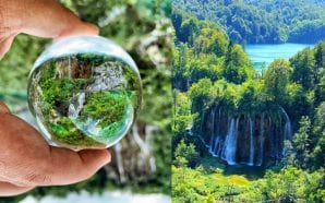Plitvice Wroclover or different view of the Lakes