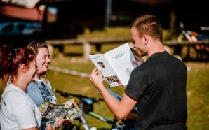POP UP DISTRIBUTION The Plitvice Times Magazine in Korenica and…