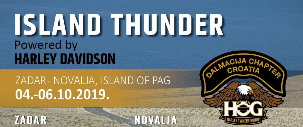 island thunder novalja