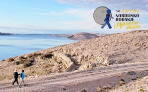 FOR THE FIRST TIME Nordic Walking on the Moonlike Island…