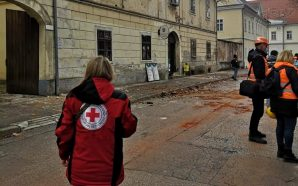 Earthquake donation information from the Croatian Red Cross